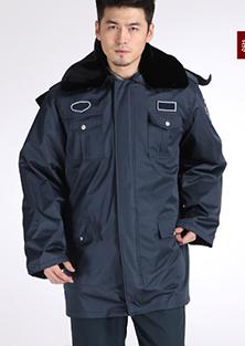 冬季保安制服