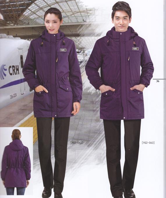冬季活套保暖棉衣工作服